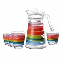 Комплект для напоїв Luminarc COLOR PENCIL N0792 7 предметів, фото 3