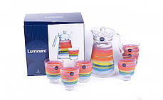 Комплект для напоїв Luminarc COLOR PENCIL N0792 7 предметів, фото 2