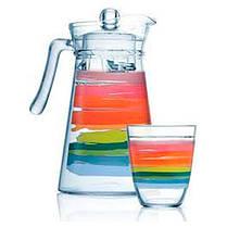 Комплект для напитков Luminarc COLOR PENCIL N0792 7 предметов, фото 2