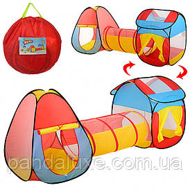 Детская Палатка MR 0017 с тоннелем 80х245х90 см