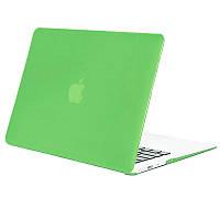 Чехол-накладка Matte Shell для Apple MacBook Pro touch bar 15 (2016/18) (A1707 / A1990) Салатовый / Tender green