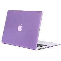 Чехол-накладка Matte Shell для Apple MacBook Pro touch bar 15 (2016/18) (A1707 / A1990) Фиолетовый / Purple