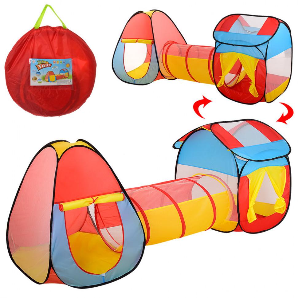 Детская игровая палатка с тоннелем MR 0017