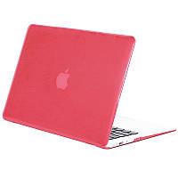 Чехол-накладка Matte Shell для Apple MacBook Pro touch bar 13 (2016/18/19) (A1706/A1708/A1989/A2159) Розовый / Rose Red