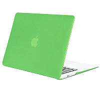 Чохол-накладка Matte Shell для Apple MacBook Pro touch bar 13 (2016/18/19) (A1706/A1708/A1989/A2159) Салатовий / Tender green