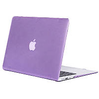 Чехол-накладка Matte Shell для Apple MacBook Pro touch bar 13 (2016/18/19) (A1706/A1708/A1989/A2159) Фиолетовый / Purple
