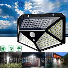 Вуличне освітлення на сонячній батареї з датчиком руху, настінний Світильник вуличний
