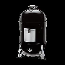 Коптильня двухъярусная с термометром для горячего копчения Weber Smokey Mountain Cooker (500x500x1060 мм)
