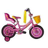 Велосипед Azimut Girls 14 дюймов, фото 3