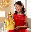 Кукла Барби Праздничная 2020 в золотом платье коллекционная Barbie 2020 Holiday, фото 8