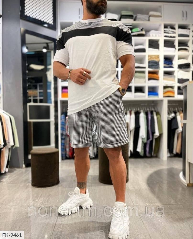 Чоловічий костюм двійка річний шорти і футболка