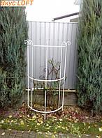 Опора полукруглая для растений 160х70 см. загородка для растений полукруглая. Шпалера полукруглая декоративная