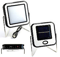 Cветильник аккумуляторный кемпинговый на солнечной батарее 30 LED прожектор Solar Camping Lamp BL RY-T913