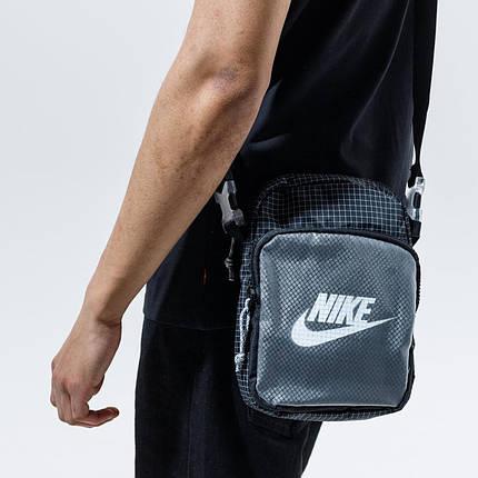 Сумка Nike Heritage 2.0 CV1408-010 Черный (194500865785), фото 2