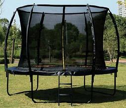 Батут для дітей з внутрішньої захисною сіткою і сходами Profi MS 2921-3-LUX (діаметр 305 см, висота 180 см)