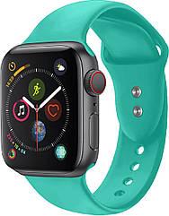 Силиконовый ремешок Promate Oryx-38ML для Apple Watch 38-40 мм Turquoise