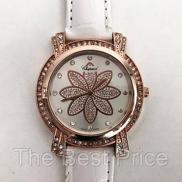 Годинники наручні Chopard. Колір білий ремінець