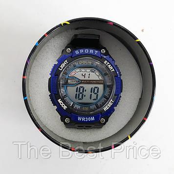 Годинник наручний Polit, в коробці. Колір синій з білим