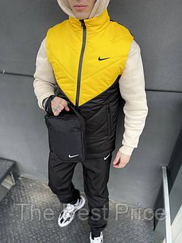 Жилетка мужская штаны барсетка Nike