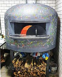 """N-100. Печь для пиццы на дровах серии """"Napoli"""" с диаметром пода 100 см"""