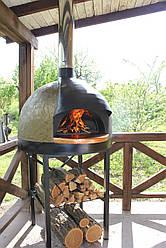 """S-70. Печь для пиццы на дровах серии """"Standart"""" с диаметром пода 70 см"""