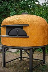 """S-120. Печь для пиццы на дровах серии """"Standart"""" с диаметром пода 120 см"""