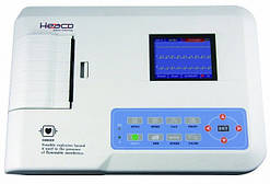 Электрокардиограф 3-х канальный Heaco ECG300GT ТЕLEMETRY