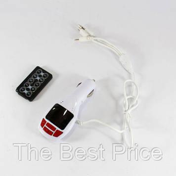 Фм-модулятор, трансмітер FM MOD CM 7010 c зарядкою для телефону