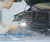Ручной Бороскоп эндоскоп гибкий USB 7мм с подсветкой, фото 1