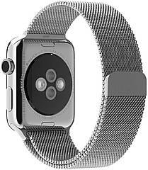Металлический ремешок Promate Milous-38 для Apple Watch 38-40 мм SIlver