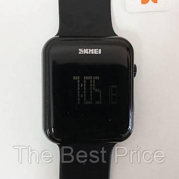 Годинник наручний SKMEI з LED дисплеєм. Колір чорний