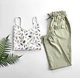 Домашний костюм-пижама, майка и штаны, фото 2