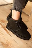 UGG Black ботинки
