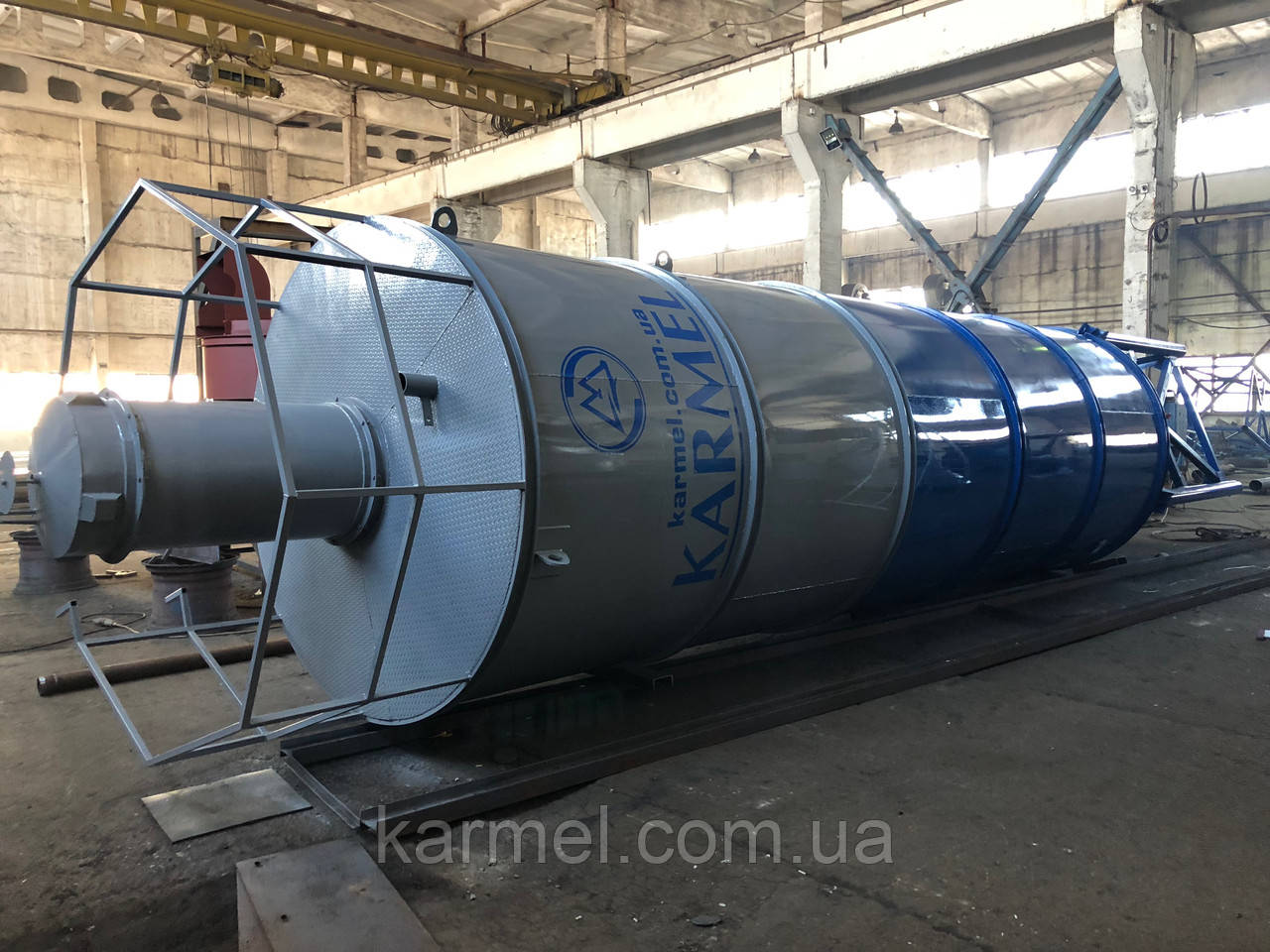 Силос для цементу 50 тон/38 м. куб KARMEL