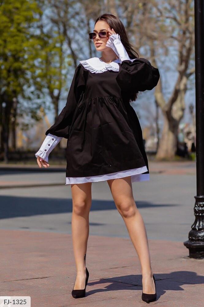 Платье воротник