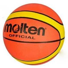Мяч баскетбольный для улицы и зала оранжевый размер 7 Molten