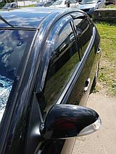 Ветровики, дефлекторы окон Hyundai  Elantra HD 2006-2010 (Autoclover)