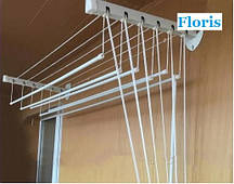 """Сушка для белья настенно-потолочная """"Флорис"""" 2м."""
