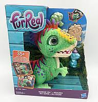 Интерактивная игрушка динозавр Рекс Hasbro Furreal Munchin' Rex Уценка