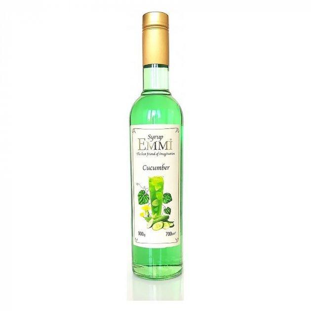 Сироп Еммі Огірок 700 мл (900 грам) (Syrup Emmi Cucumber 0.7)