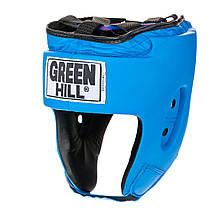 Шлем боксерский Green Hill Special, Голубой, M