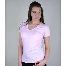 Футболка женская летняя с  V-образным вырезом, Женская футболка с V-вырезом Fruit of the Loom