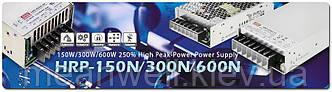 HRP - Mean Well выпускает новую линейку блоков питания с высокой пиковой мощностью