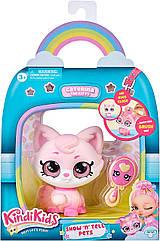 Kindi Kids Кінді кидс Кішечка Катерина вихованець ляльки Пируэтта Kindi Kids Show N Tell Pet Caterina The Kitten