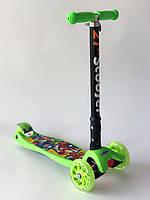 Самокат Дитячий Триколісний Складаний зі Світними Колесами 03 MZ