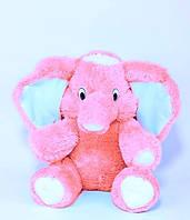 Мягкая игрушка Слон 80 см розовый, фото 1