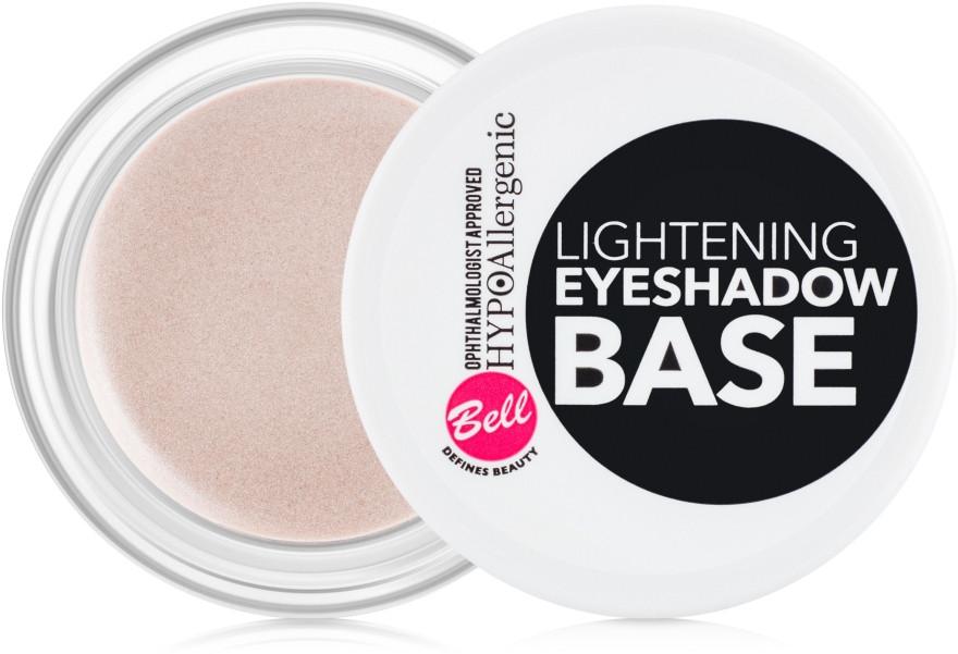 База під тіні для повік з ефектом освітлення Bell Hypo Allergenic Lightening Eyeshadow Base 5 г