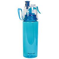 Спортивна пляшка для води Kamille 570мл з пластику (тритан)