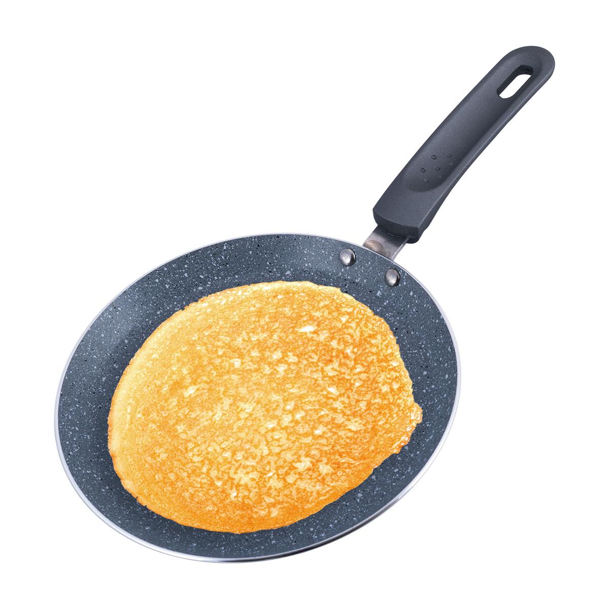 Сковорода млинна Kamille 22см з гранітним покриттям