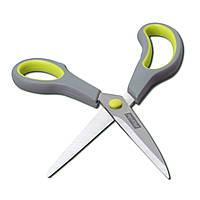Ножницы универсальные 24.5см из нержавеющей стали с пластиковыми ручками KM-5185